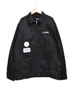 X-LARGE(エクストララージ)の古着「PATCHED WORK JACKET パッチ ジャケット」|ブラック