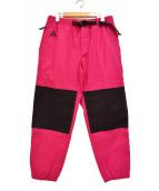 NIKE ACG(ナイキエージーシー)の古着「19AW TRAIL PANT トレイル パンツ」|ショッキングピンク