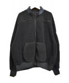 C.E(シーイー)の古着「ロゴフリースジャケット」 ブラック