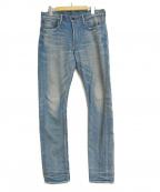 KURO(クロ)の古着「デニムパンツ」|インディゴ