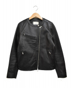 FREAK'S STORE(フリークスストア)の古着「シングル ライダースジャケット」 ブラック