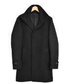 junhashimoto(ジュンハシモト)の古着「STAND COLLAR COAT コート」|ブラック