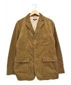 Engineered Garments(エンジニアドガーメンツ)の古着「17AW コーデュロイベイカージャケット」 ベージュ