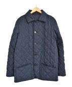 MACKINTOSH PHILOSOPHY(マッキントッシュフィロソフィー)の古着「リバーシブル グレンチェック キルティングジャケット」|ネイビー