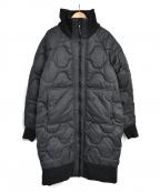 adidas by stella McCartney(アディダスバイステラマッカートニー)の古着「ATHLETICS ロングパテッドジャケット」|ブラック