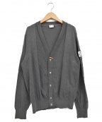 MONCLER GAMME BLEU(モンクレール ガム ブルー)の古着「マグリア トリコ コットンカーディガン」|グレー
