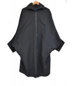 Ka na ta(カナタ)の古着「15SS Rain Coat ジップアップ レインコート」|ブラック