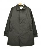 PRINGLE1815(プリングルエイティーンフィフティーン)の古着「ダウンライナー付ステンカラーコート」|ブラック