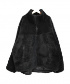 Sunny Sports()の古着「LEVEL7 TYPE1 BIGGEST ボアジャケット」|ブラック