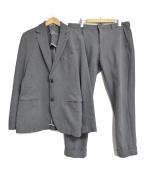 CIRCOLO 1901(チルコロ1901)の古着「ヘリンボーンセットアップスーツ」|グレー