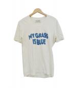 Martin Margiela(マルタンマルジェラ)の古着「07SS MY GRASS IS BLUE Tシャツ」|ホワイト