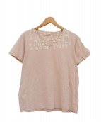 Martin Margiela(マルタンマルジェラ)の古着「05SS エイズTシャツ」|ピンク