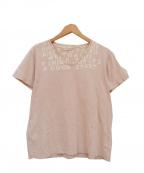 MARTIN MARGIELA(マルタン・マルジェラ)の古着「05SS エイズTシャツ」|ピンク