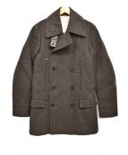 Maison Martin Margiela(メゾンマルタンマルジェラ)の古着「14AW REPLICA 1932 Pコート」|チャコールグレー