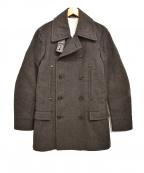 Maison Martin Margiela()の古着「14AW REPLICA 1932 Pコート」|チャコールグレー
