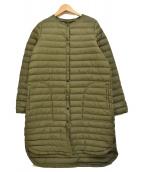 Traditional Weatherwear(トラディショナルウェザーウェア)の古着「パッカブル ARKLEY ロング インナーダウン」|カーキ