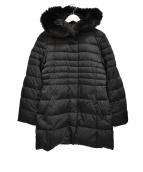 自由区(ジユウク)の古着「フォックスファー付ダウンコート」|ブラック
