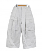 SHINYA KOZUKA(シンヤコズカ)の古着「20AW BAGGY PANT バギーパンツ」|ホワイト