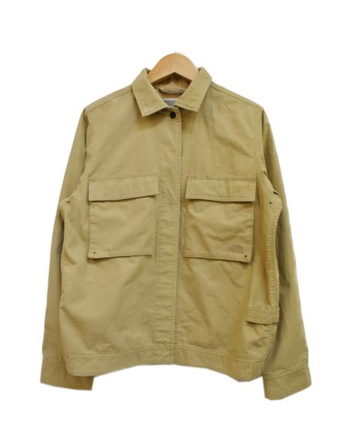 THE NORTH FACE(ザ ノース フェイス)THE NORTH FACE (ザノースフェイス) ファイヤーフライシャツジャケット ベージュ サイズ:M Firefly Shirt Jacketの古着・服飾アイテム