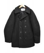 Schott(ショット)の古着「8ボタン Pコート」|ブラック