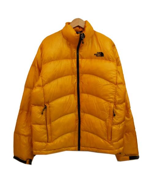 THE NORTH FACE(ザ ノース フェイス)THE NORTH FACE (ザノースフェイス) アコンカグアダウンジャケット オレンジ サイズ:L SUMMIT SERIES ACONCAGUA JACKETの古着・服飾アイテム