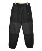 CHALLENGER(チャレンジャー)の古着「TECHNICAL FLEECE PANTS 」 ブラック