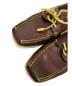 中古・古着 LOUIS VUITTON (ルイヴィトン) デッキシューズ ブラウン サイズ:8 1/2:13800円