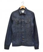 Denham(デンハム)の古着「リジット デニムジャケット」 インディゴ