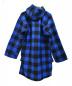 SWANNDRI (スワンドリ) [古着] レースアップ ブロックチェックシャツ ブルー サイズ:M:5800円