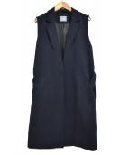 ALANI(アラーニ)の古着「ロングジレ」|ネイビー