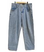 LEVIS(リーバイス)の古着「SilverTab BAGGYデニムパンツ」|インディゴ