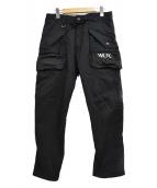 ()の古着「WLFC ストレッチカーゴパンツ」|ブラック