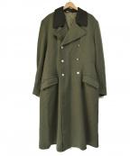 VINTAGE MILITALY(ヴィンテージ ミリタリー)の古着「ドイツ軍 ロング オーバーコート」|オリーブ