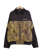 Columbia(コロンビア)の古着「リアルツリーカモ ロマビスタジャケット」 ブラック×ブラウン