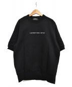 DIESEL(ディーゼル)の古着「COPYRIGHT クルーネック半袖スウェット」|ブラック