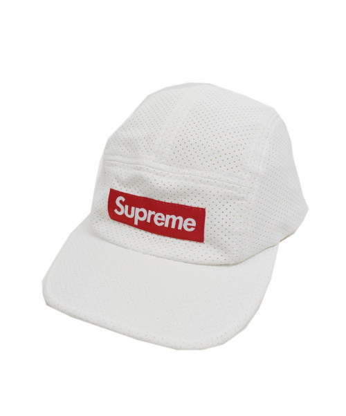 SUPREME(シュプリーム)SUPREME (シュプリーム) 17SS Perforated Camp Cap キャップ ホワイト サイズ:下記参照の古着・服飾アイテム