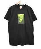 ()の古着「21SS Ear Tee プリント Tシャツ 」|ブラック