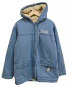 ()の古着「DENIM BOA JACKET ジャケット」 インディゴ