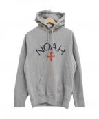 Noah(ノア)の古着「Core Logo Hoodie プルオーバー パーカー」 グレー