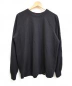COLINA(コリーナ)の古着「Super140s Washable Wool Sweat 」|ネイビー