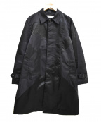 ANREALAGE(アンリアレイジ)の古着「18SS panel patchwork nylon coa」|ブラック