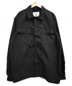 RHC Ron Herman×Ark Air()の古着「21SS/ユーティリティーシャツ」|ブラック