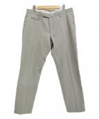 BERWICH(ベルウィッチ)の古着「スリムフィット コットンキャンバス パンツ」|グレー