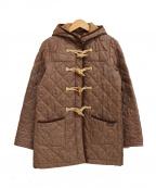LAVENHAM(ラベンハム)の古着「キルティングダッフルコート」|ベージュ