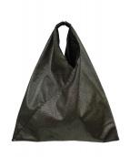 MM6 Maison Margiela(エムエムシックス メゾンマルジェラ)の古着「ジャパニーズトートバッグ」|ゴールド