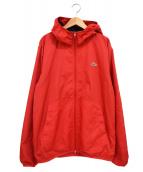 ()の古着「フーデッドジャケット」|レッド
