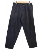 ()の古着「タックパンツ」|ネイビー