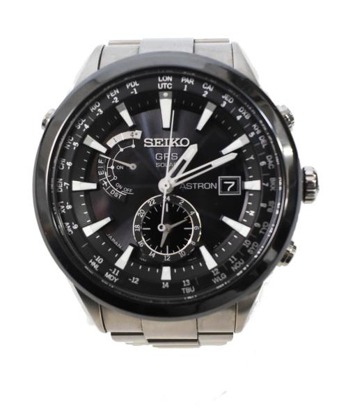 SEIKO(セイコー)SEIKO (セイコー) ASTRON/GPSソーラー 腕時計 サイズ:下記参照 ソーラーGPS衛星電波 ライトチタンの古着・服飾アイテム