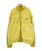 PUMA(プーマ)の古着「ナイロンジャケット」 セーフティグリーン