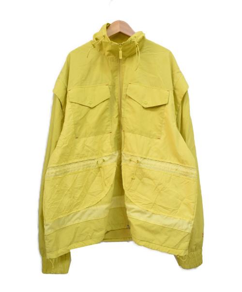PUMA(プーマ)PUMA (プーマ) ナイロンジャケット セーフティグリーン サイズ:US:Lの古着・服飾アイテム